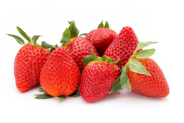 Fresa fresca aislada