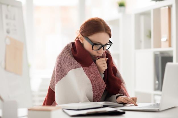 Frio en la oficina