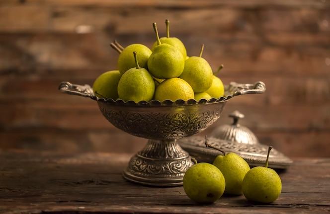 Fruta de guayaba fresca