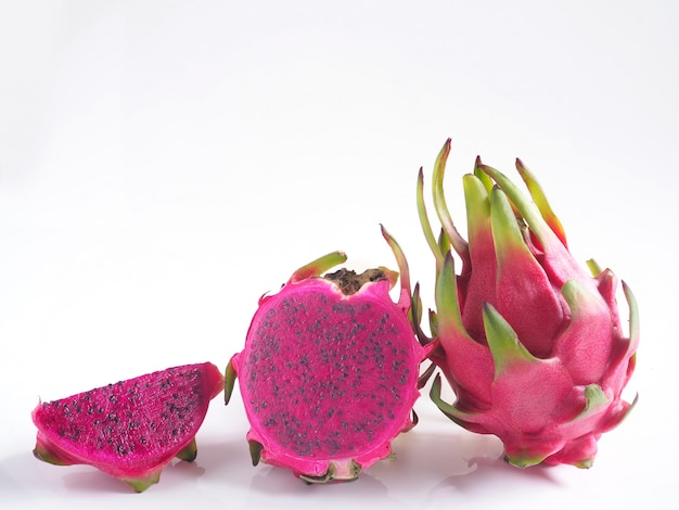 Fruta del dragón púrpura