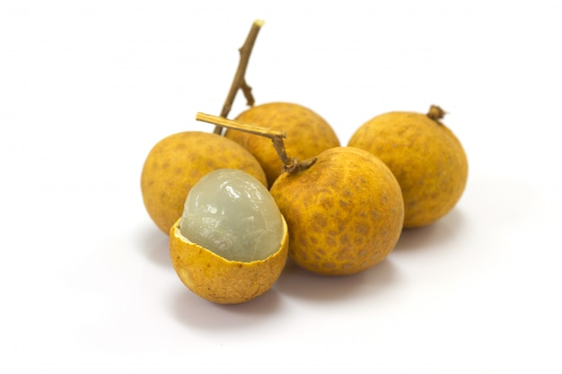 Fruta longan fresca