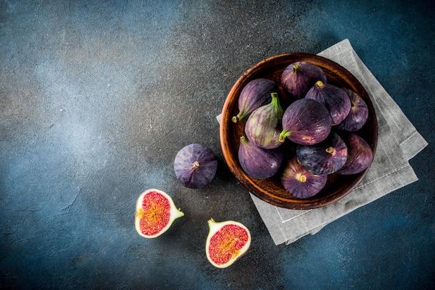 Frutas de higo frescas crudas