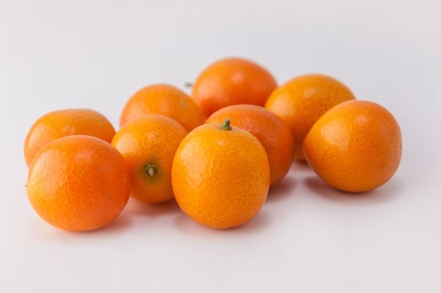 Frutas hoja fresca vista natural