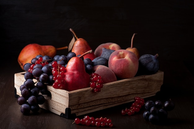 Frutas orgánicas frescas