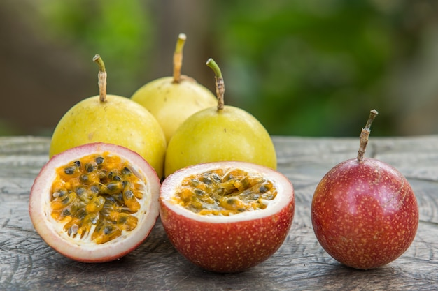 Frutas pasionales