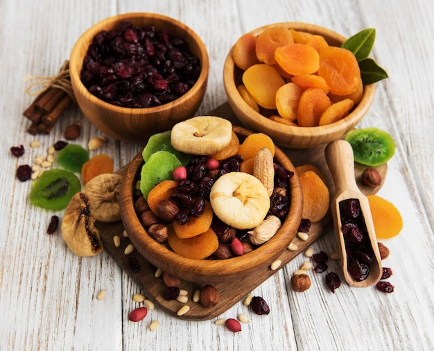 Frutas secas mixtas