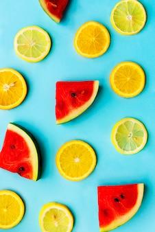 Frutas tropicales alimentación saludable vitamina nutrición natural