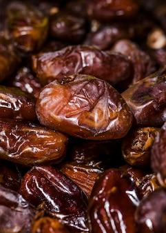 Frutos secos orgánicos para la venta en el mercado