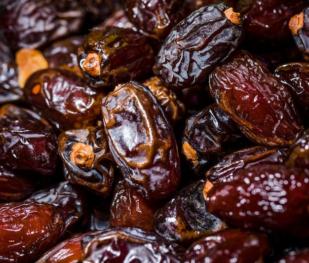Frutos secos saludables en el mercado para la venta