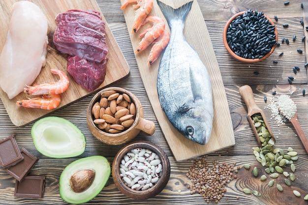 Fuentes alimenticias de zinc