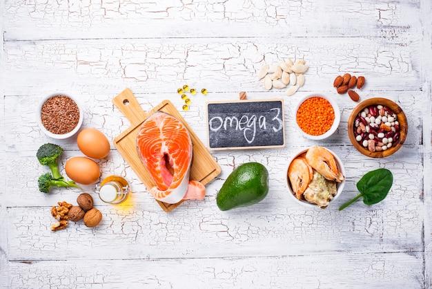 Fuentes de productos de ácidos omega-3