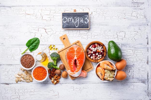 Fuentes de productos de ácidos omega 3