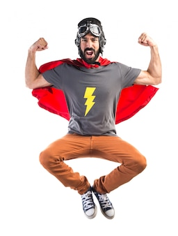 Fuerte superhéroe