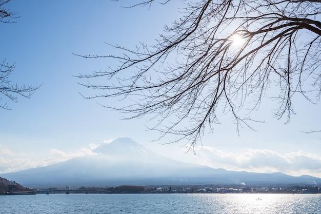 Fujisan del lago kawaguchigo