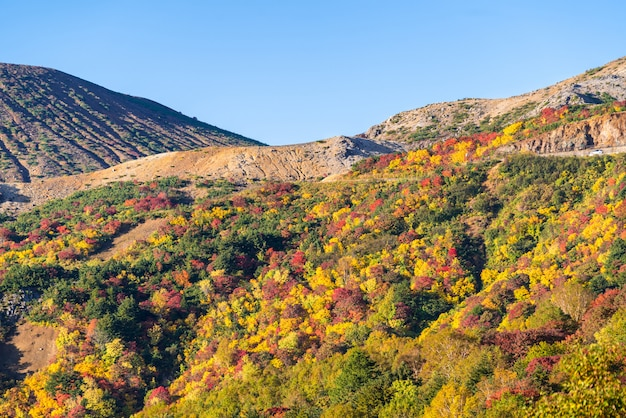 Fukushima mountain bandai otoño otoño
