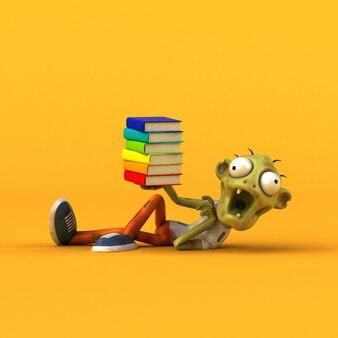Fun zombie - ilustración 3d