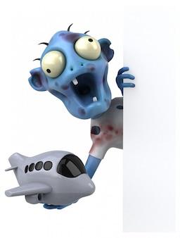 Fun zombie - personaje 3d