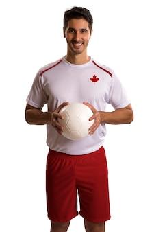 Fútbol canadiense futebol en espacios en blanco