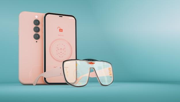 Gafas inteligentes nueva tecnología.