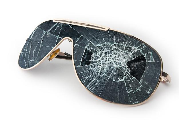 Gafas de sol rotas