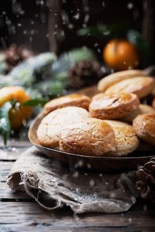 Galletas caseras para la cena de navidad