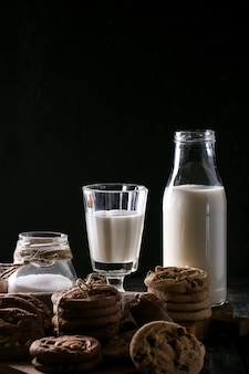 Galletas caseras de gotas de chocolate