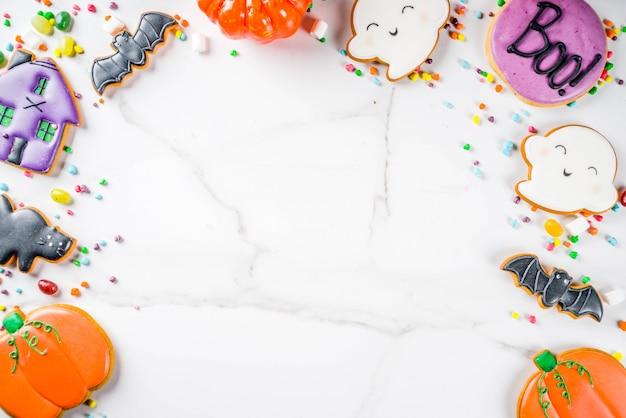 Galletas y dulces de halloween