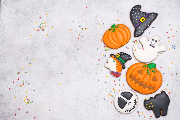 Galletas para fiesta de halloween