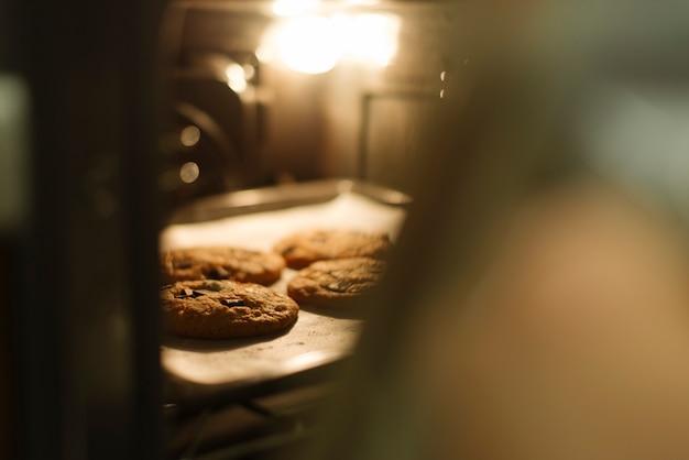 Galletas en horno