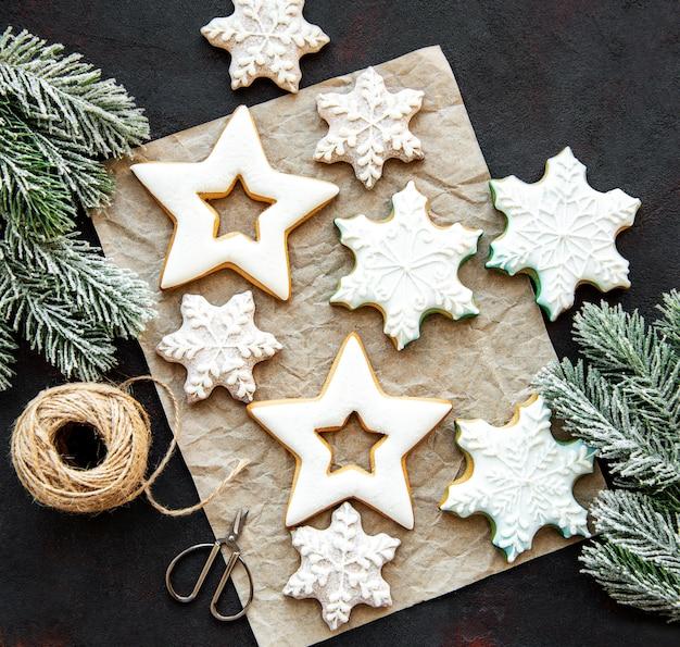 Galletas de jengibre navideño