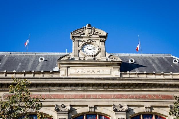 Gare d'estación austerlitz, parís