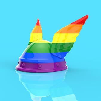 Gaulois gay - ilustración 3d