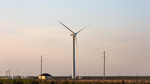 Generador de energía eólica, fuente de energía alternativa