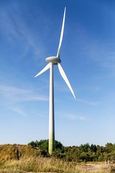 Generador de viento de energía limpia