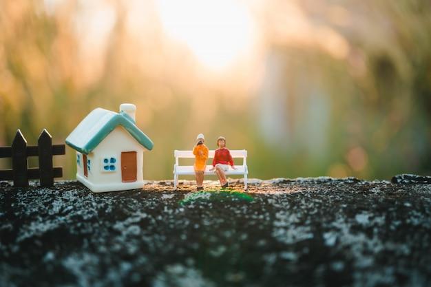 Gente en miniatura