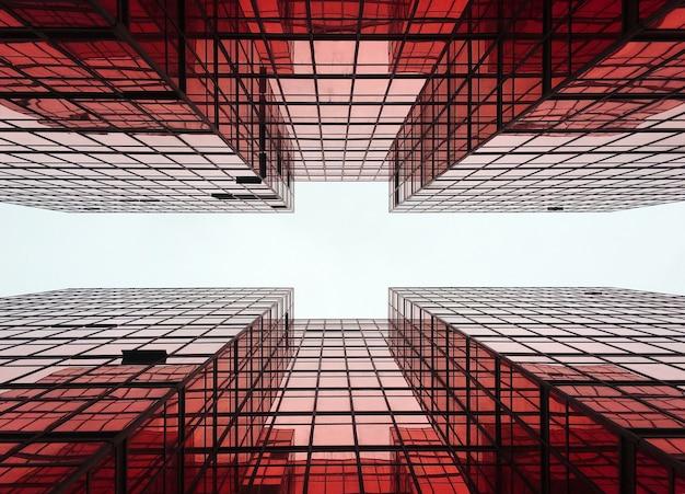 Geometría de construcción de la ciudad de negocios