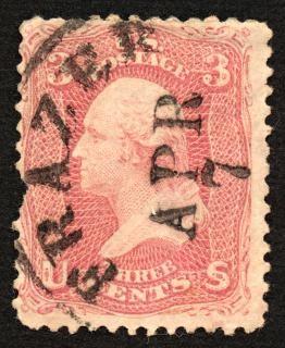 George washington sello rojo