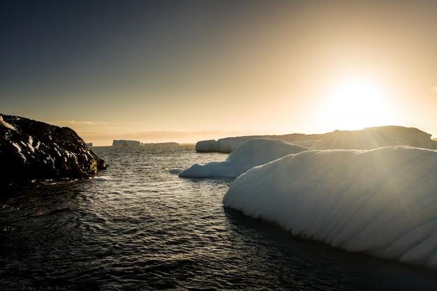 Glaciar antártico