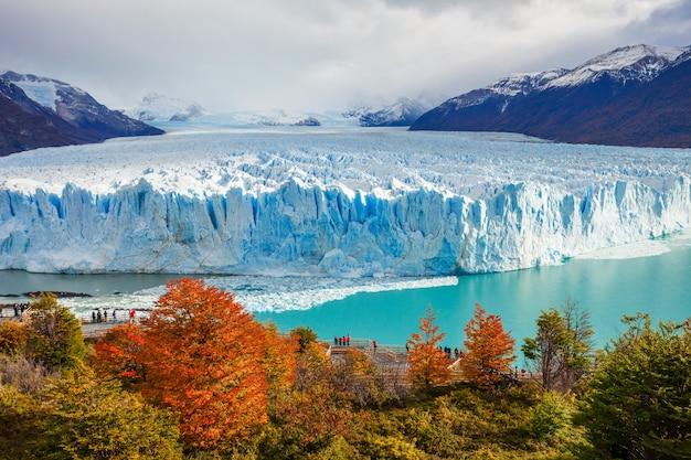 El glaciar perito moreno