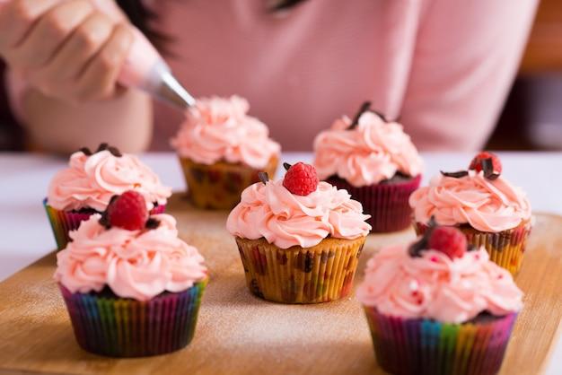 Glaseado de cupcakes