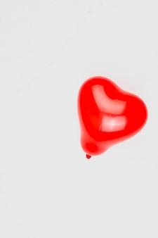 Globo en forma de corazon