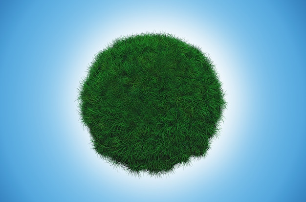 Globo de hierba
