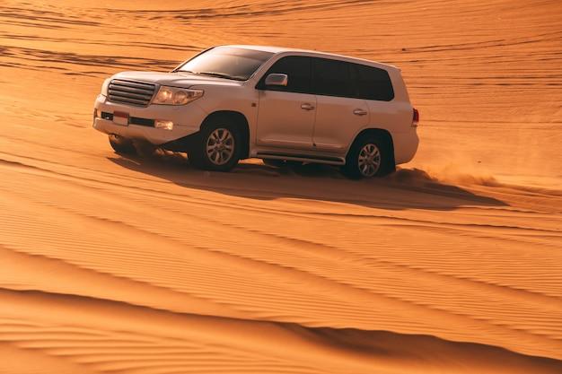 Golpe de dunas del desierto