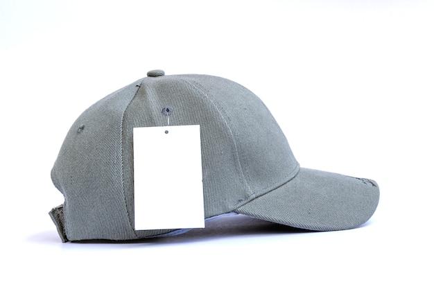Gorra de béisbol de moda aislada.