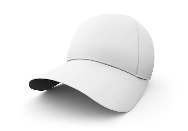 Gorra blanca aislada