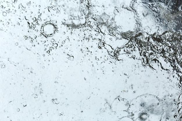 Gotas de agua abstracta
