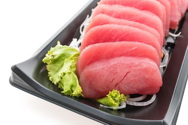 Gourmet de pescado blanco sushi saludable