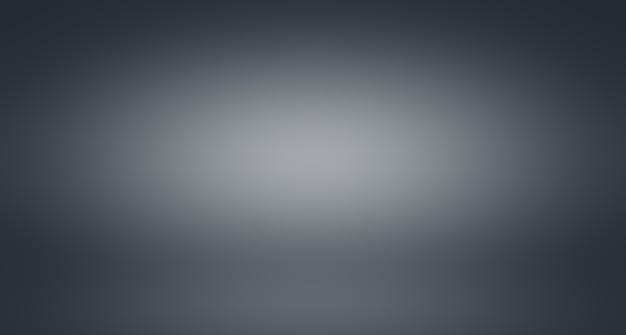 Gradiente de color gris de desenfoque de lujo abstracto utilizado como pared de estudio de fondo para exhibir sus productos