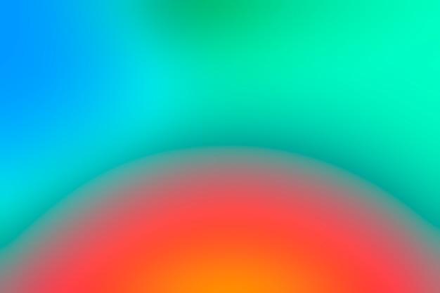 Gradiente colorido abstracto