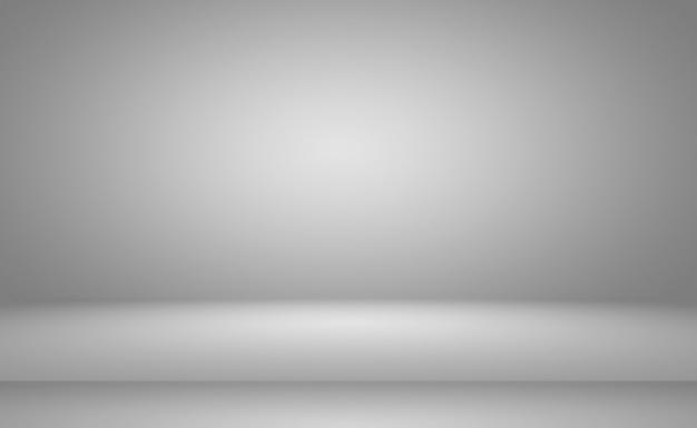 Gradiente de gris y negro de desenfoque liso de lujo abstracto